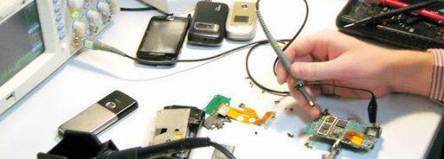 ورشة تصليح هواتف في المنزل